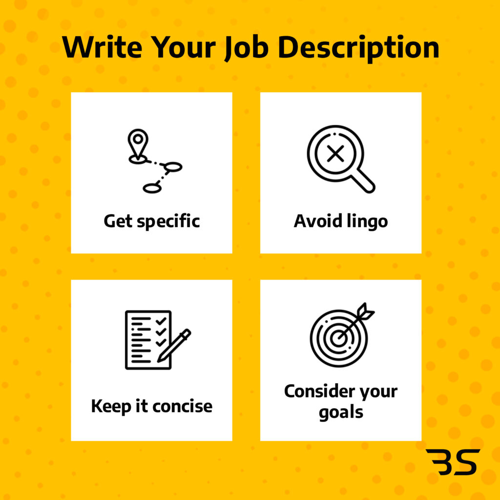 how to write your own job description