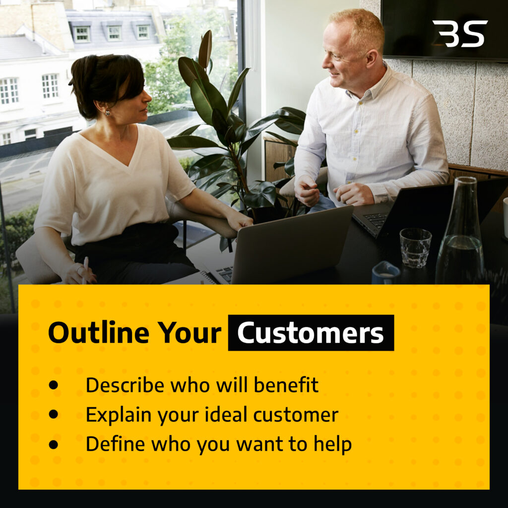 outline your customers